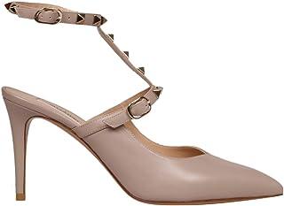 VALENTINO Garavani Women's SW2S0N47VXSP45 Pink Leather Heels