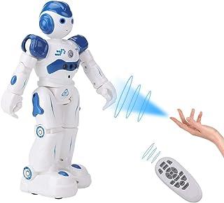 SUNCLAY Robot Juguete, Programable Juguete Educativos, Radiocontrol y Gesto Control Robot, Múltiples Funciones para Cantar...