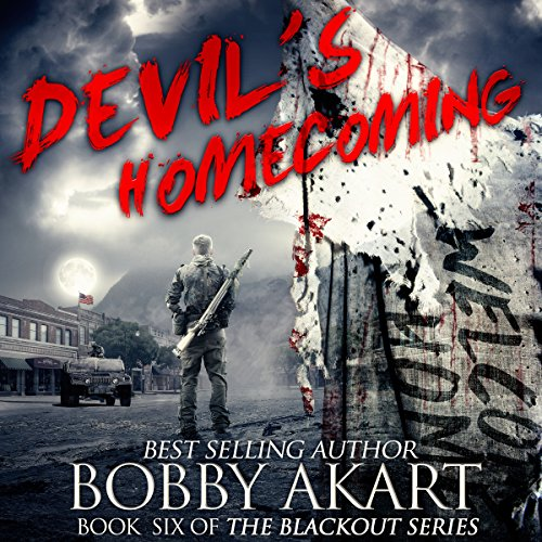 Devil's Homecoming audiobook cover art