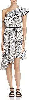 Womens Wemu Floral Print One Shoulder Casual Dress