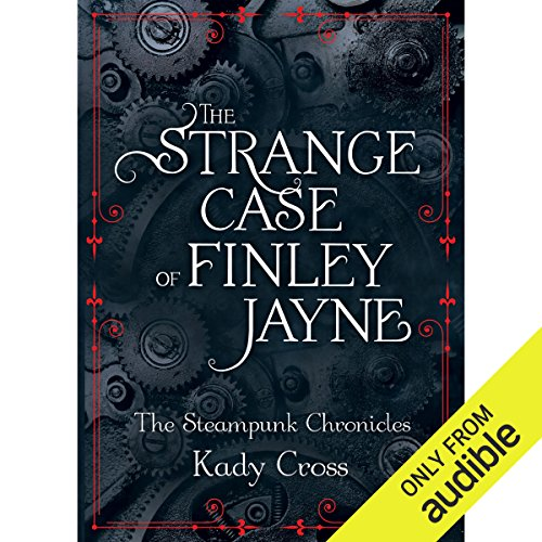 The Strange Case of Finley Jayne audiobook cover art