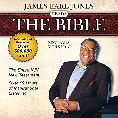 James Earl Jones Reads The Bible: King James Version cover art