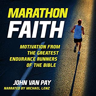 Marathon Faith audiobook cover art