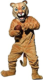 Puma/Cougar Mascot Costume Orange Black