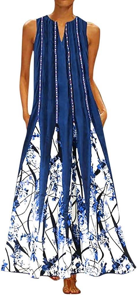 Aayomet High order Dress for Atlanta Mall Women Womens Bohemian Printed Maxi Shor