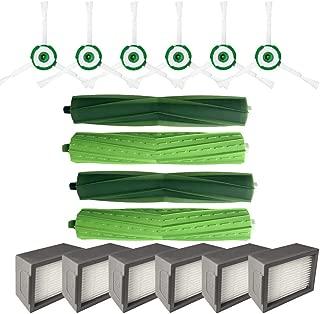 Side Brush&Hepa Filters&Bristle Brush for iRobot Roomba i7 i7+/i7 Plus E5 E6 E7