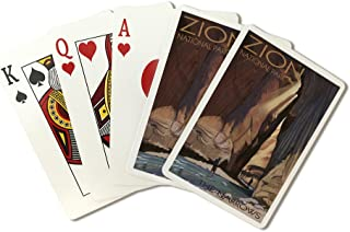 Zion National Park, Utah - The Narrows (Playing Card Deck - 52 Card Poker Size with Jokers)