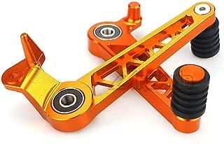 HANLING Motociclo Manubrio Maniglie manopole termina for KTM Duke 200 390 690 125 790 990 1290 DUKE690 2010-2019 2014 2015 2016 2017 2018 Color : Orange