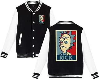 Rick N Morty Men Varsity Jacket Outerwear