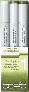 Copic Marker Sketch Blending Trio Markers, SBT 1, 3-Pack