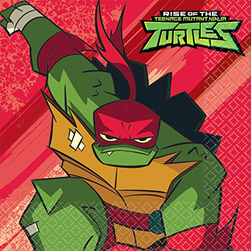 Amscan internationale schildpadden Amscan 512209 kinderen kaart maskers 16 Pack de opkomst van tiener Mutant Ninja