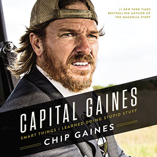 Capital Gaines audiobook cover art