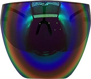 Goggle Sunglasses UV Daily Entertainment Protective Eyewear Visor Full Face Cover (A)