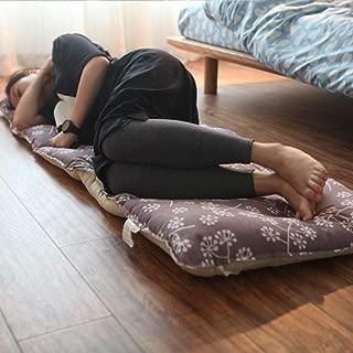 TopJiä シングル 床 敷き布団 マットレス, 通気性 ソフト 日式 たたみ 折りたたみマットレス ゲストマットレス, 非常に適し 子 再生 そして 睡眠 マットレス-パープル 61x167cm(24x65.7inch)