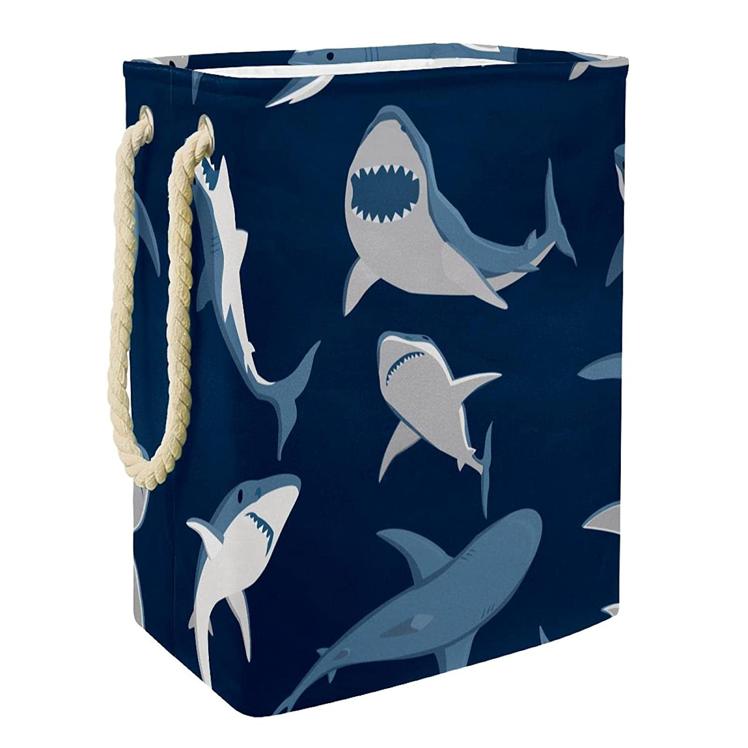 Kids Storage Basket Fierce Shark C Max 63% OFF Accessory Bin New product Toy and