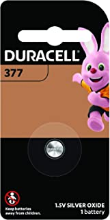 Duracell Specialty Silver Oxide Watch Battery 377, 1 Pack