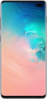 Samsung Galaxy S10 Plus Dual SIM 128GB 8GB RAM 4G LTE (UAE Version) - Prism White - 1 year local brand warranty