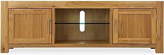 Homes r us VENICE Collection Entertainment Unit - Brown - 180 x 45 x 57 cm