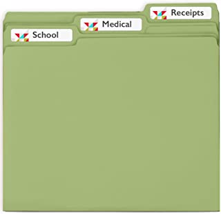 Avery File Folder Labels with Permanent Adhesive, 750 White Labels - Great for Home Organization (8366)