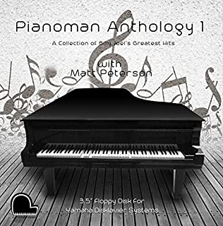 Piano Man Anthology 1 - Billy Joel Collection - Yamaha Disklavier Compatible Player Piano Music on 3.5