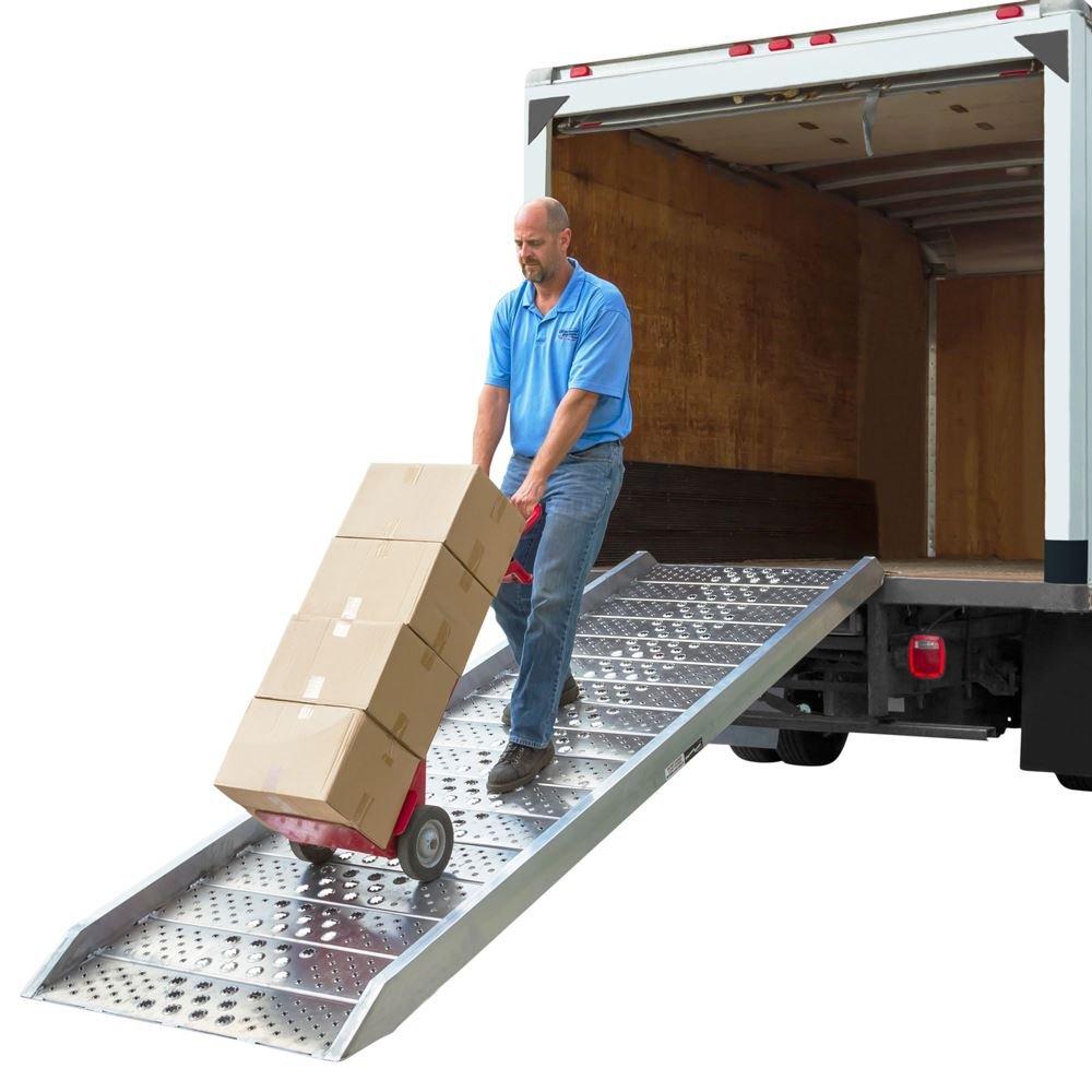 1000 lbs Capacity 96 Length Vestil RAMP-96 Steel Pick-Up//Van Ramp