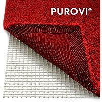 Purovi® Alfombra Antideslizante | 200 x 80 cm | Fácil de Moldear | Protección contra Resbalones