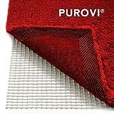 Purovi Alfombra Antideslizante | 200 x 80 cm | Fácil de Moldear | Protección contra Resbalones