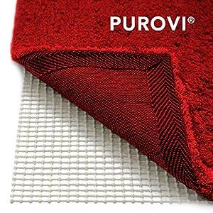 Purovi® Alfombra Antideslizante   200 x 80 cm   Fácil de Moldear   Protección contra Resbalones