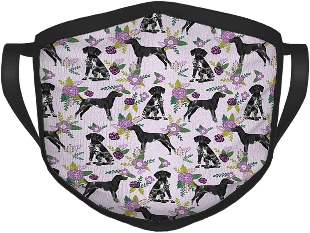 Max 50% OFF LAVYINGY German Shorthaired Pointer Shorth At the price of surprise Floral Dog
