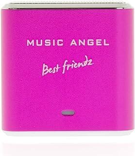 Music Angel Mini Best Friendz Speaker for iPhone/iPad/iPod/MP3 Players/PC/MAC - Pink