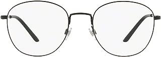 Luxury Fashion | Giorgio Armani Mens AR50823001 Black Glasses | Season Outlet
