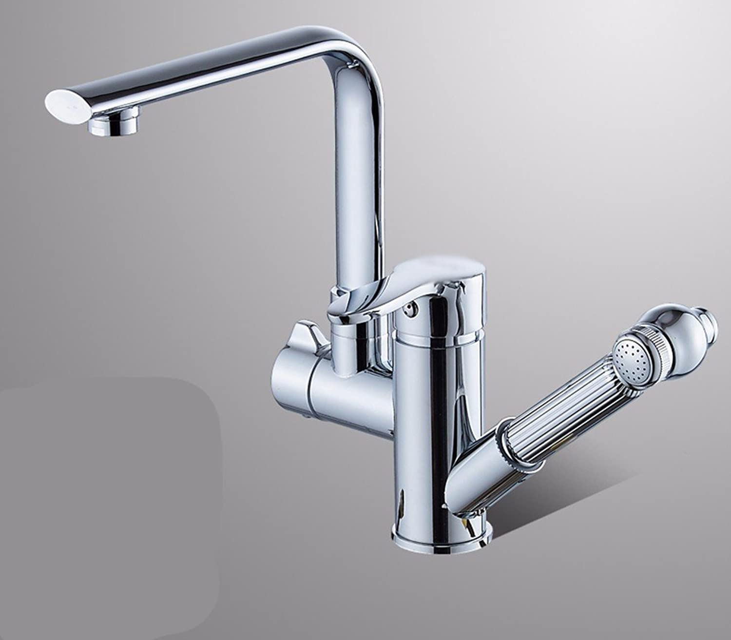 Bijjaladeva Antique Kitchen Sink Mixer Tap The Brass Pull Out Kitchen Turn The Cold Water Faucet 1 Slot