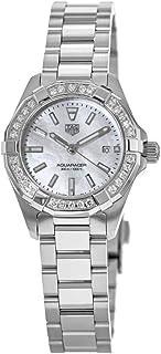 TAG Heuer - Aquaracer Diamond White Madre de Pearl Dial reloj de mujer WBD1413.BA0741