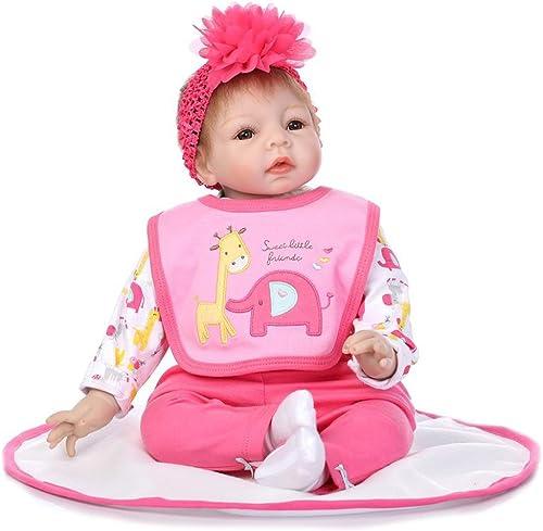 wholesape barato Docooler Reborn Reborn Reborn Baby Doll Rebirth Suave Material de Tela de Regalo para Niños 22 pulg.  autorización oficial