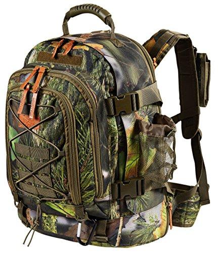 MacGyver Tactical Backpack Trekkingrugzak wandelrugzak 40 + 20L (30x51x25cm)