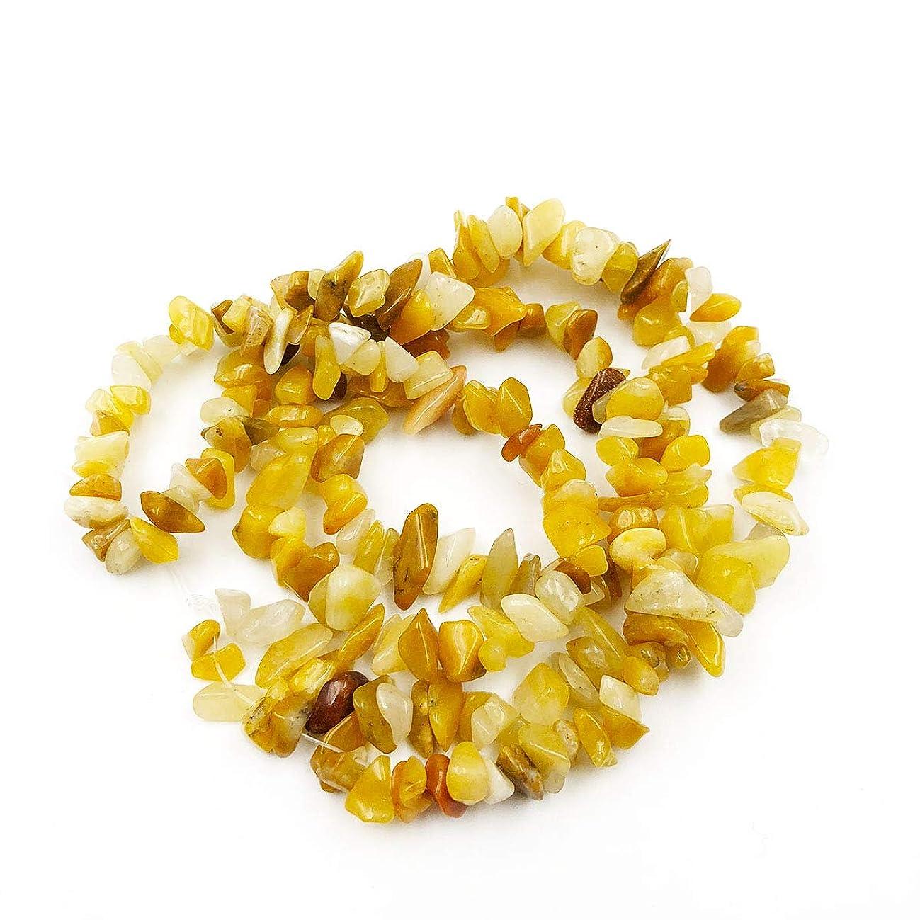 favoramulet Gobi Jade Irregular Tumbled Chips Loose Beads Strand for Jewelry Making