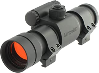 Aimpoint 9000SC 30mm Tube Red Dot Reflex Sight with Rings – 2 MOA - 11417