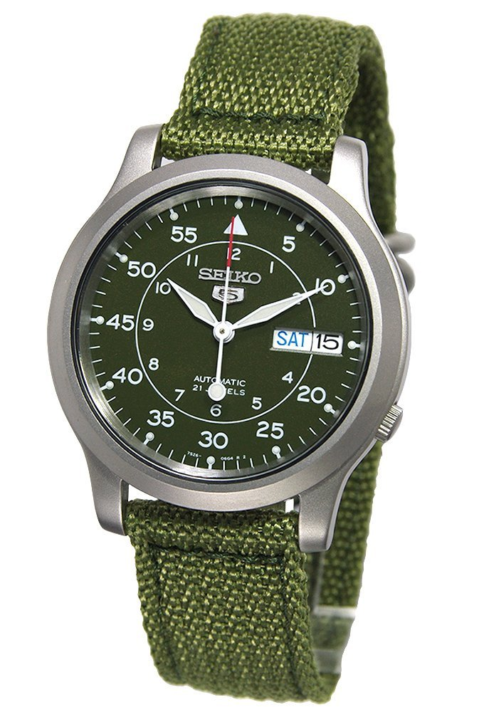 Seiko SNK805 Automatic Stainless Canvas