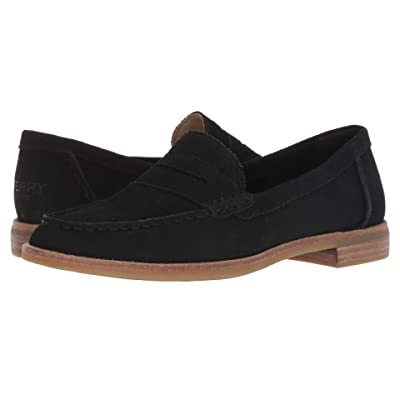 Sperry Seaport Penny Snake (Black) Women
