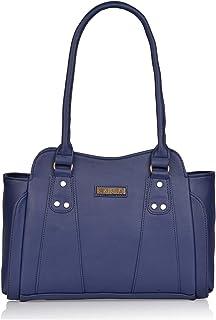 Aisna Women's Gene Handbag(ASN-174)(Blue)