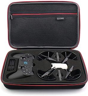 KISARG DJI Tello ケース Gamesirコントローラー収納可能バッグ キャリングケース 予備バッテリーやプロペラなど収納可能