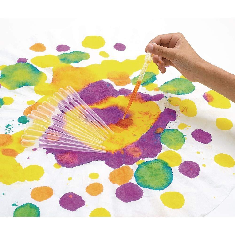 Colorations Super Safe 1-Piece Dropper Plastic Max 79% OFF Paint Transparent security
