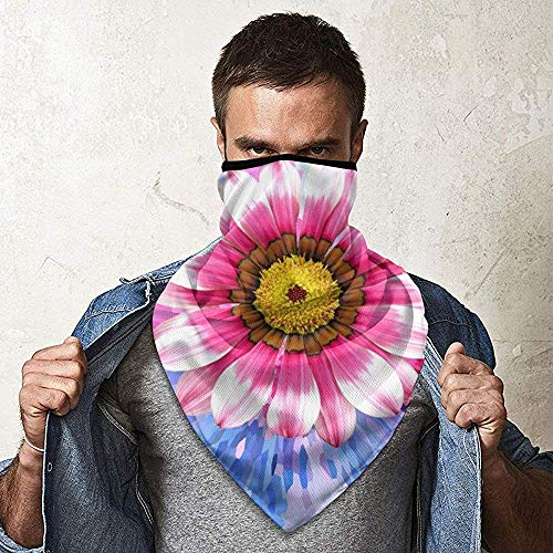 WCUTE Oeufs colorés Floral Magic Headwear Headscarf Bandanas Moto Bandeaux Multifonctionnel Tube Écharpe Neck Gaiter Casque