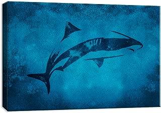 Best shark canvas wall art Reviews