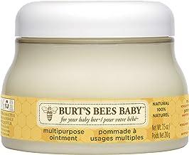 """Burt""""s Bees Baby 100 Prozent Natürliche Mehrzwecksalbe, Babysalbe für Gesicht und Körper, 210 g Tiegel"""