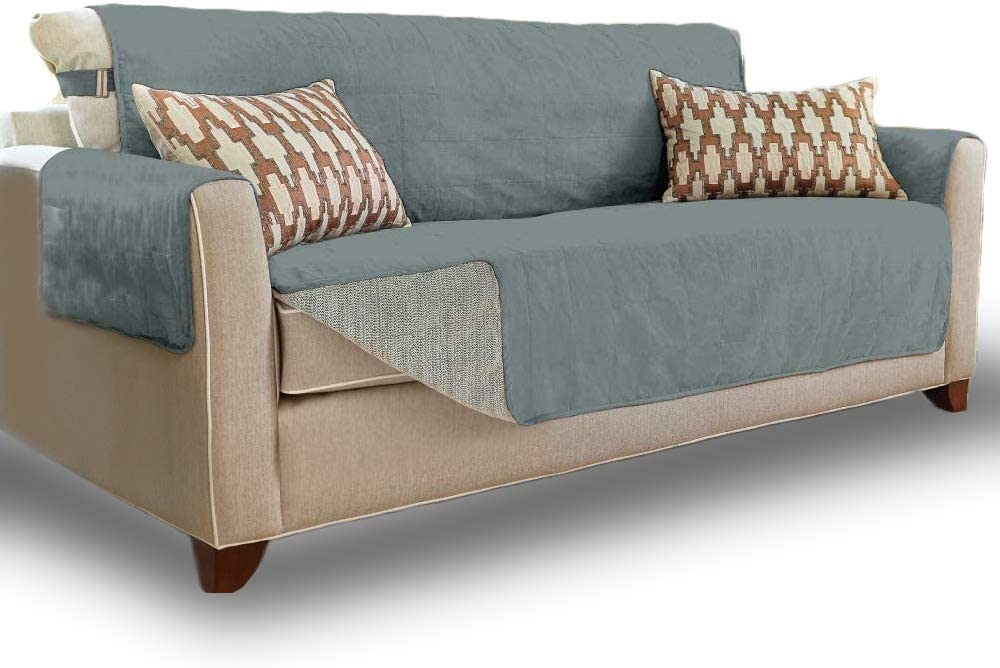 Gorilla Grip Original Soft Suede-Like Sofa Protector, Large, 70