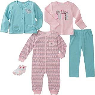 absorba Infant 5-Piece Set (Jacket, Shirt, Bodysuit, Pant and Socks)