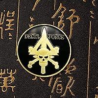 記念コインの絶妙なコレクション米国特殊部隊デルタフォースメダルスカルコイン軍事外貨チャレンジコインコレクションホビーコインコレクションに使用されるゴールドコイン