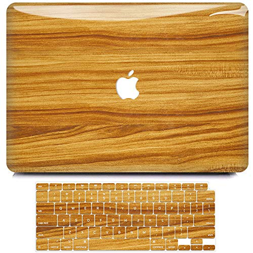 MacBook Air 13 Inch Case 2020 2019 2018 Release A2179 A1932, B BELK 3D Smooth Scratch Resistant Snap on PC Hard Case with Keyboard Cover for Mac Air 13.3 Touch ID & Retina Display (Teak)