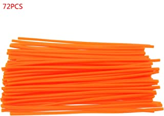 bleu//noir//rouge//orange//vert Ensemble de skins pour motos 大 红色 72 pces 0.6cm Cache-rayons universel pour roues de motocross Moto de route en option